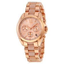 Michael Kors MK6066 Womens Pink Dial Analog Quartz Watch