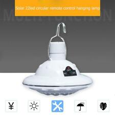 E27 22LED Solar Light Portable Outdoor Camping Tent Remote Control Hanging Lamps