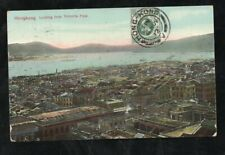 HONG KONG Sc.110, picture postcard Hongkong from Victoria Peak