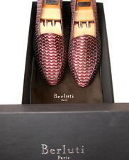 NWB RARE Berluti A Casa slip on shoes size 7 by Berluti NEW Handmade Authentic