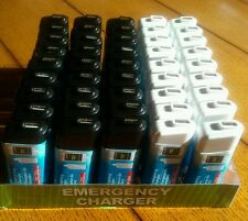 45 Emergency Portable Cell / Mobile Phone Lot  Backup Power Battery Charger