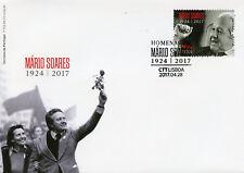 Portugal 2017 FDC Mario Soares Prime Minister 1v Set Cover Politicians Stamps
