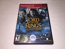 The Lord of the Rings: Two Towers (Playstation PS2) GH Game Complete Exc!