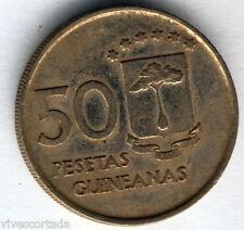 Republica Guinea Ecuatorial 50 Pesetas 1969 * 69