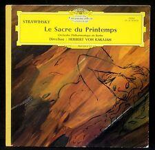 Stravinsky / Strawinsky Sacre du printemps Karajan 1964  Alle Herst LP EX+ CV EX