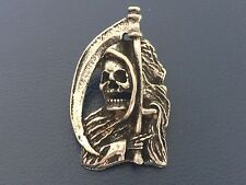 Pin Reaper parca scull sotana Biker motorcycles mc Chopper ** nuevo ** rar **
