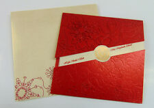Muslim Indian Hindu Sikh & Asian Wedding Cards   100 PACK