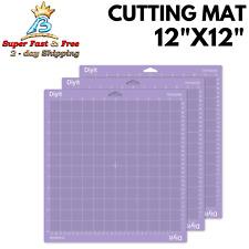 DIY Crafts Gridded Strong Grip Cutting Mat For Cricut Maker Explore Air 3Pcs NEW