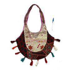 Vintage Tribal Banjara Indian Handmade Ethnic Boho Multicolor Shoulder Bag