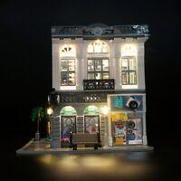 LED light up kit for LEGO 10251 City Creator Brick Bank set Model building kit