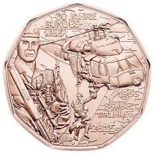 5 EURO AUTRICHE 2015 UNC - FORCES ARMEES