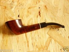 DACOTA Smoking Pipe + 9 mm. Filter, Wild Pear Wood Authors Hand Carved Tobacco