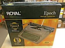 Royal 79103y Epoch Manual Typewriter 44 Keys And 88 Characters