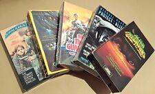 SCI-FI LOT: ALIEN PREDATOR, SPACEHUNTER, STAR CRYSTAL, TIME GUARDIAN ETC (5 VHS)