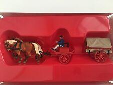 Preiser 30429 Pferdekutsche Feuerwehr Kohlenwagen um 1900 Spur H0 OVP