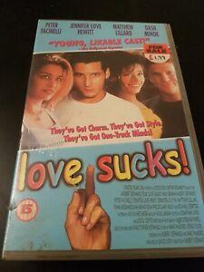 LOVE SUCKS! JENNIFER LOVE HEWITT - VHS - BIG BOX - EX RENTAL