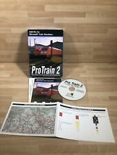 PROTRAIN 2 LEIPZIG - RIESA - DRESDEN ~ MICROSOFT TRAIN SIMULATOR ADD-ON BOXED
