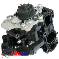 New Water Pump Thermostat Assembly For Audi A4 VW Golf Jetta EOS1.8T 2.0T