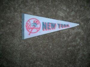 New York Yankees 1970's mini pennant