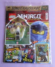 Revista lego Ninjago Legacy 2/19 + tarjeta le 23 + Wu