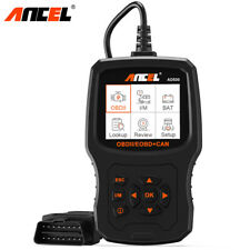 Automotive Code Reader Battery Tester Full OBDII Car Engine Diagnostic Scan Tool