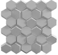ABS Plastic mold for Plaster Form 3D Wall Panels 1 pcs for Decorative HONEYCOMBS