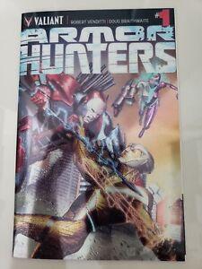 ARMOR HUNTERS #1 (2014) VALIANT COMICS CHROMIUM COVER SPECIAL 1ST PRINT! NM