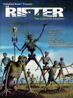 The Rifter #40 Sourcebook Series Palladium Books Roleplaying  Guide to Megaverse