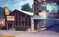 Little Brown Jug Restaurant Gatlinburg Tennessee Chrome Vintage Postcard