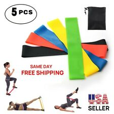 Resistance bands fitness loop set Strength Gym exercise Yoga workout Pull up