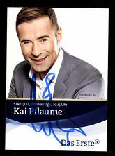 Kai Pflaume ARD Autogrammkarte Original Signiert # BC 98559