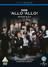 ALLO ALLO COMPLETE SERIES 8 & 9 DVD SEASON Eight Nine Eighth Nineth Ninth 8th UK