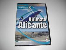 ULTIMATE ALICANTE Pc DVD Add-On Expansion Microsoft Flight Simulator X FSX - NEW