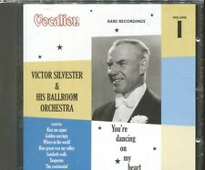 VICTOR SILVESTER & HIS BALLROOM ORCHESTRA - RARE RECORDINGS VOLUME 1 on CD