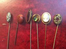 New ListingLot of 6 Antique Women's Hat with Gem Stones