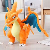 "Orange 11.82 "" MEGA CHARIZARD Evolution Plush X/Y Stuffed Animal Dragon"