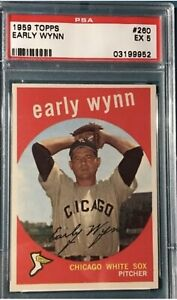 1959 Topps PSA 5 Early Wynn
