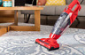 3-in-1 Vacuum Cleaner, Lightweight Corded Bagless Stick Vac with Handheld, RED