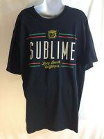 2013 SUBLIME LONG BEACH CALIFORNIA T-SHIRT ADULT SIZE XL CONCERT TOUR PUNK SKA