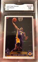 Kobe Bryant Topps Chrome 2003 Gem Mint 10 Los Angeles Lakers Lebron's RC Year