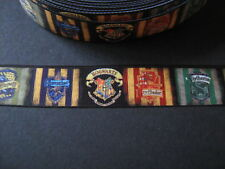 Hogwarts Harry Potter Gros grain Ruban 2.5cm x 1 Mètre Couture/Loisirs créatifs/