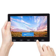 "Ultrathin 7"" HD TFT LCD Monitor Touch Button Display AV/VGA/HDMI Input 1280*800P"