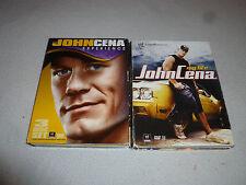 WWF WWE JOHN CENA MY LIFE EXPERIENCE DVD LOT WORLD WRESTLING FEDERATION