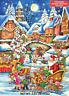 Santa's Here Chocolate Advent Calendar, Countdown To Christmas, Mystery Snacks