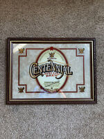 Vintage Michelob Centennial Special Brew Mirror framed Beer sign Anheuser Busch