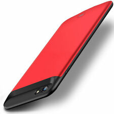 Red External Back Power bank Pack battery Charger Case For iPhone 7 Plus