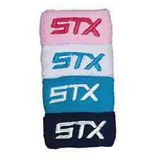 Stx Womens Lacrosse Gear Wrist Bands Navy Sky White Pink Fast Ship! D42