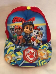 Kids - Hat/Cap - Paw Patrol - Great Job - Red - One Size - Brand New