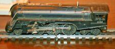 Lionel 221 Black locomotive for parts or repair.
