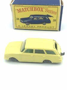 Matchbox 38b Vauxhall Victor Estate - GPW in Type D box by Pembroke Abbey